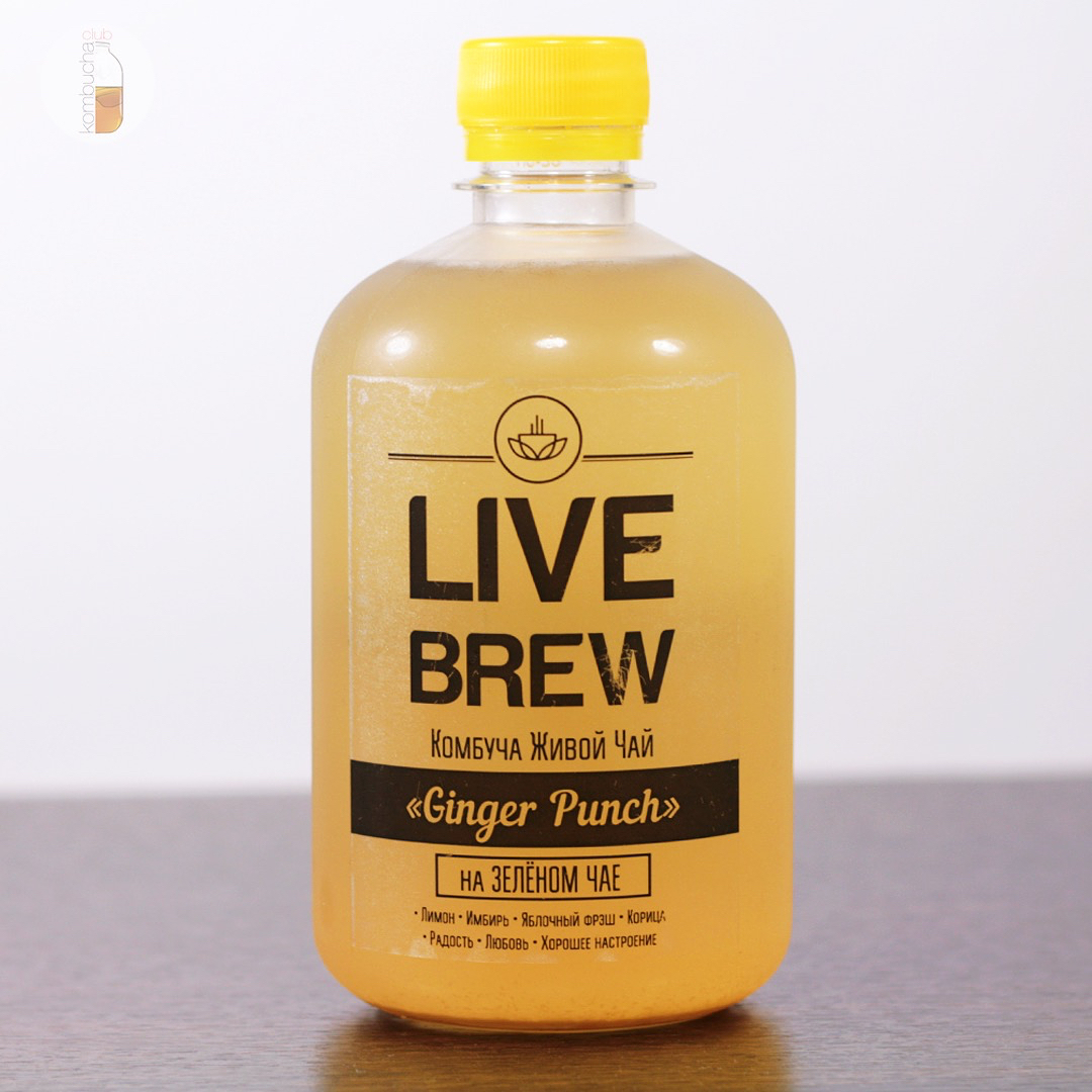 "Live Brew ""Ginger Punch"""