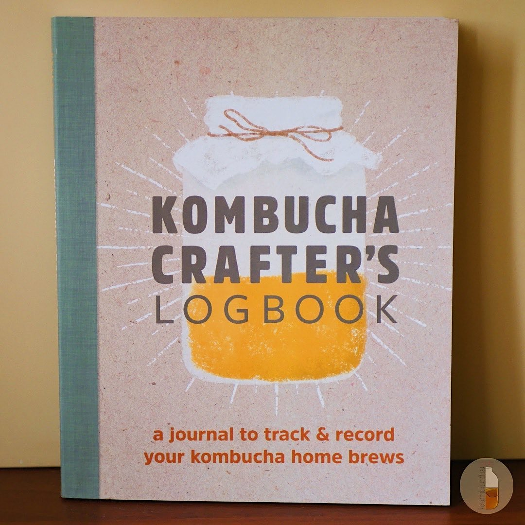 Kombucha Crafter's Logbook